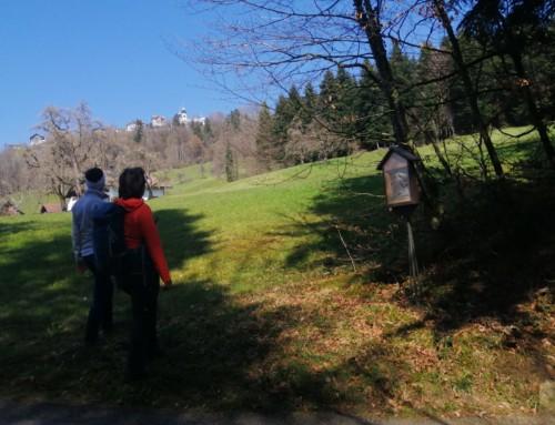 Pilgerwanderung auf dem alten Prozessionsweg