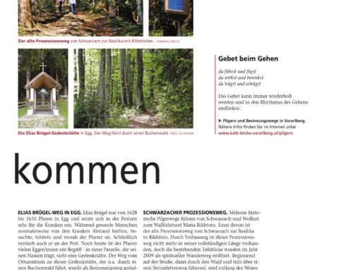 Kirchenblattserie Pilgerwege