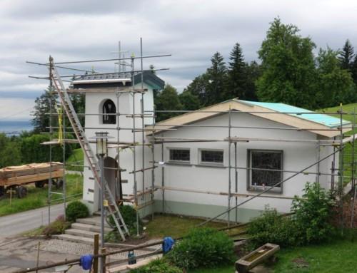 Renovierung Kapelle Baumgarten