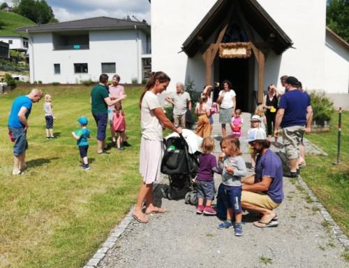 Kinderkirche mit den Papas