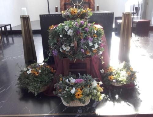 Kräutersegnung an Mariä Himmelfahrt