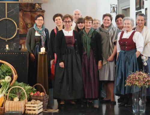 Erntedankfest mit den Bäuerinnen
